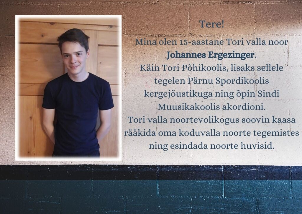 Sindi Muusikakooli noored kandideerivad Tori valla noortevolikogusse